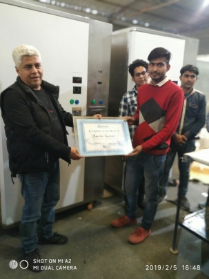 Employee of the Month Feb 2019