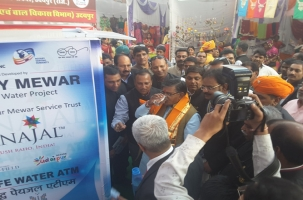 Water ATM India - Home Minster Rajasthan- Shri Gulab Chand katariya