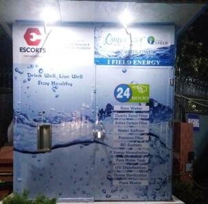 Water ATM at Escorts Company 1