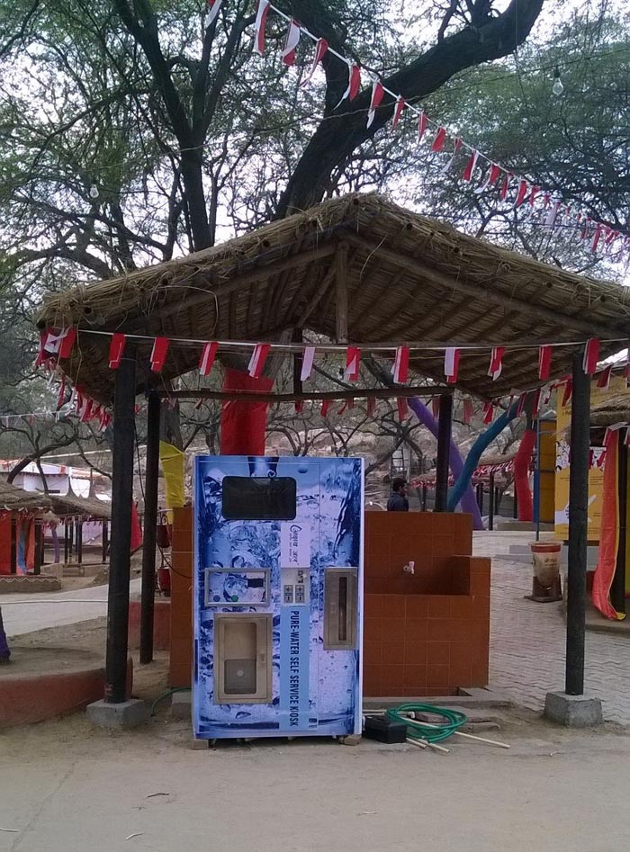 Akshay Swachh Jal Water ATM Kiosk at Surajkund Crafts Mela
