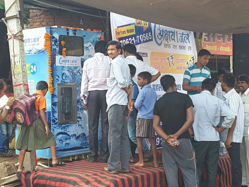 Inauguration of Water ATM at Hotel Ramada Road, Rajapark Jaipur 1