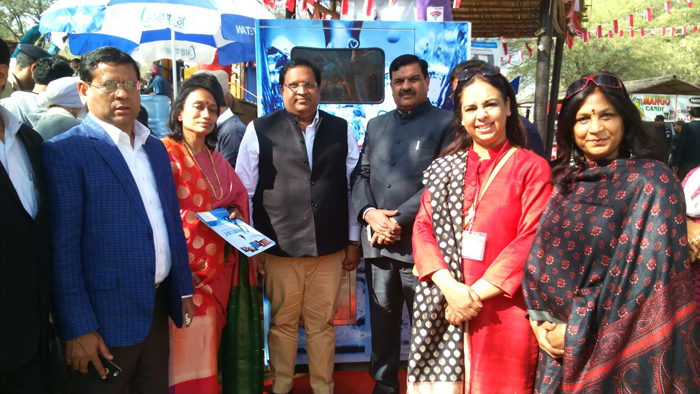Mrs. Jaya Goyal(Chairperson WEC-IamSMEof India),Mr. Vipul Goyal( MLA Faridabad), Mr. Tek ChandSharma (MLA Faridabad)